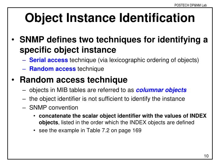 Object Instance Identification