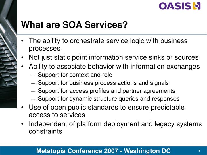 What are SOA Services?