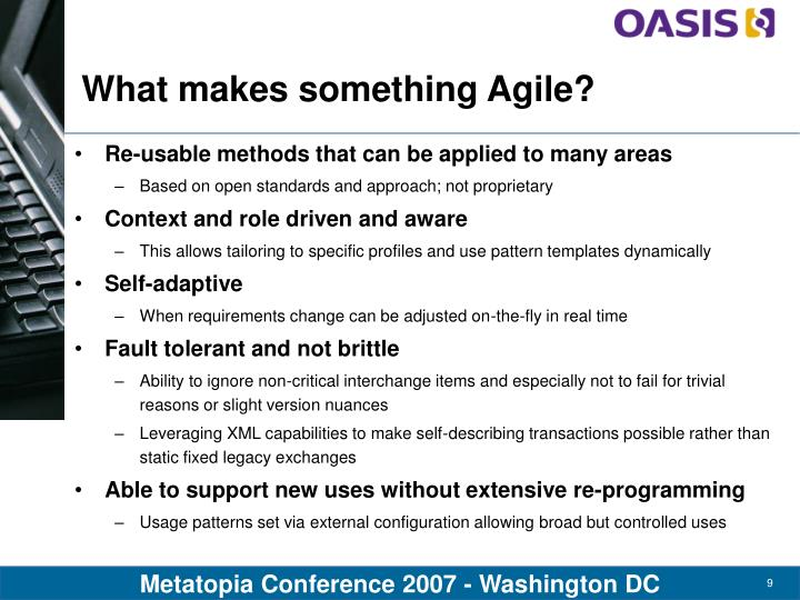What makes something Agile?