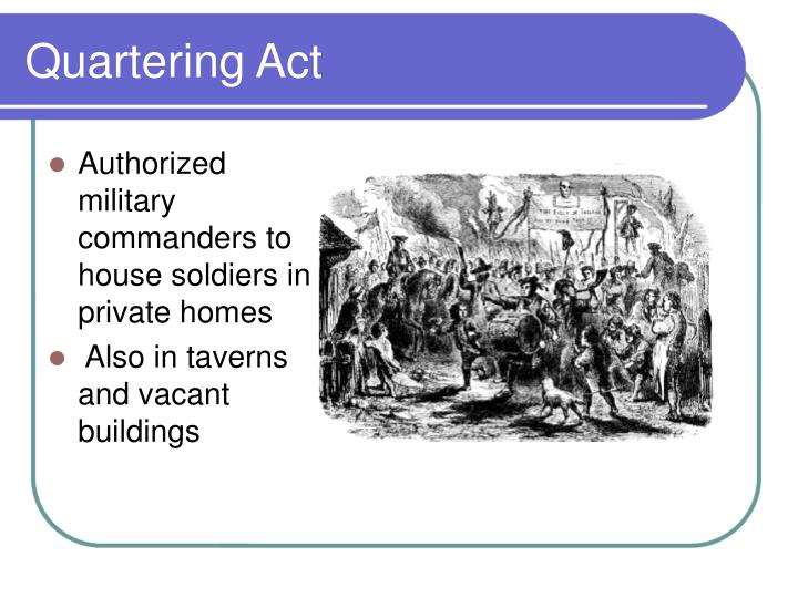 the intolerable acts coercive acts transformed