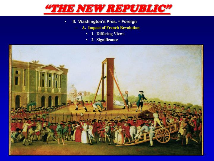 """THE NEW REPUBLIC"""