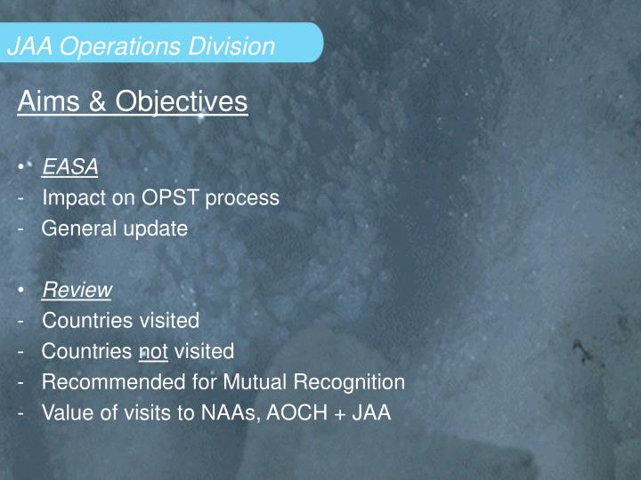 Jaa operations division2