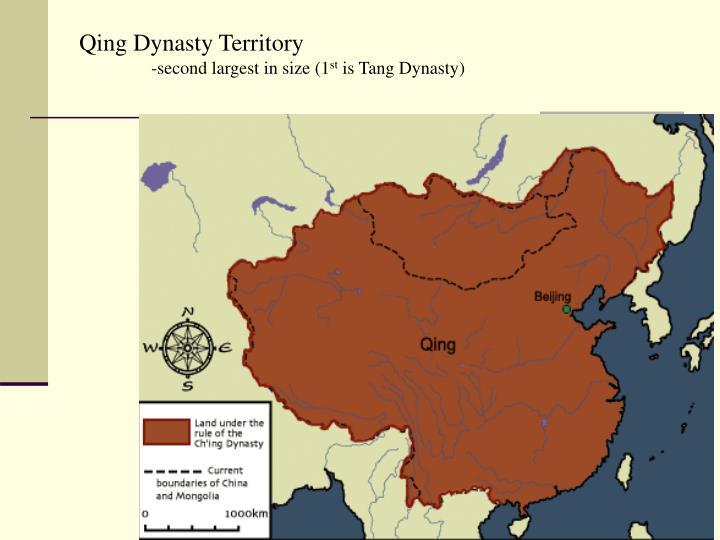 Qing Dynasty Territory