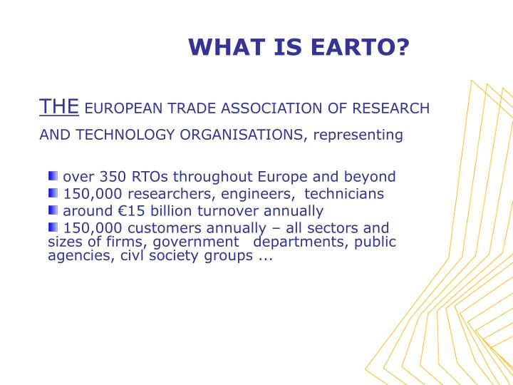 What is earto