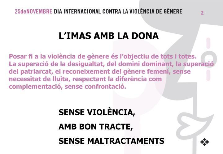 L'IMAS AMB LA DONA