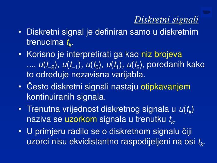 Diskretni signali