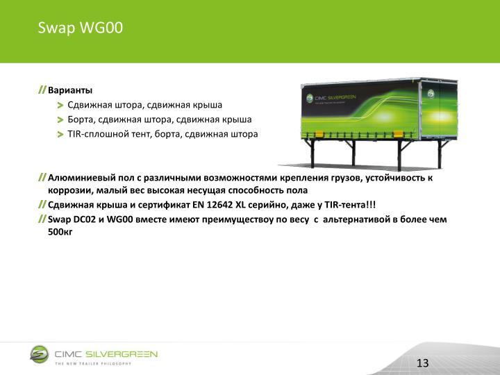 Swap WG00