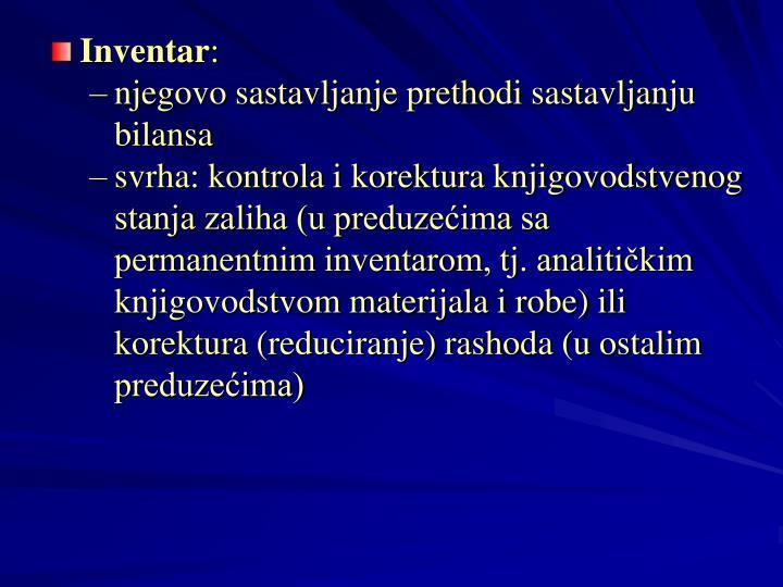 Inventar