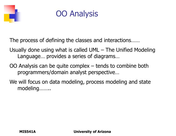 OO Analysis