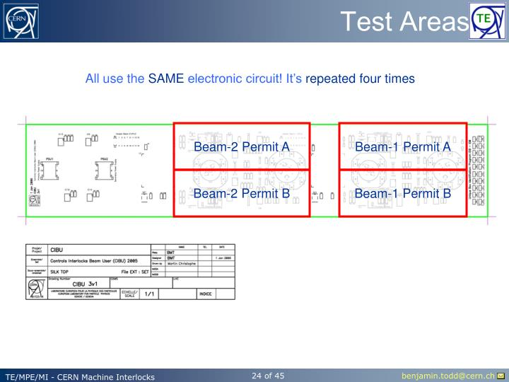 Test Areas