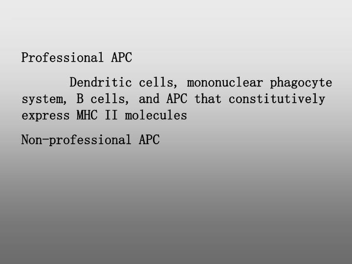 Professional APC