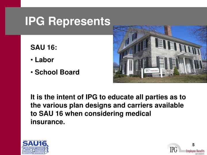 IPG Represents