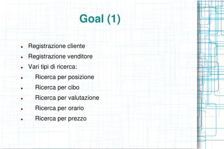 Goal (1)