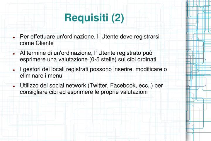 Requisiti (2)