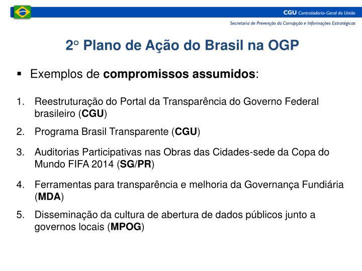 2° Plano de Ação do Brasil na OGP