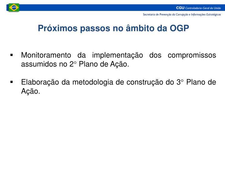 Próximos passos no âmbito da OGP