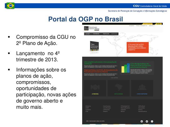 Portal da OGP no Brasil