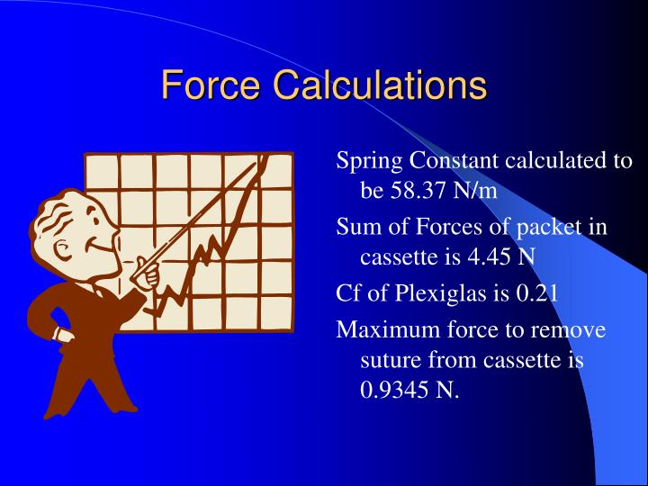 Force Calculations