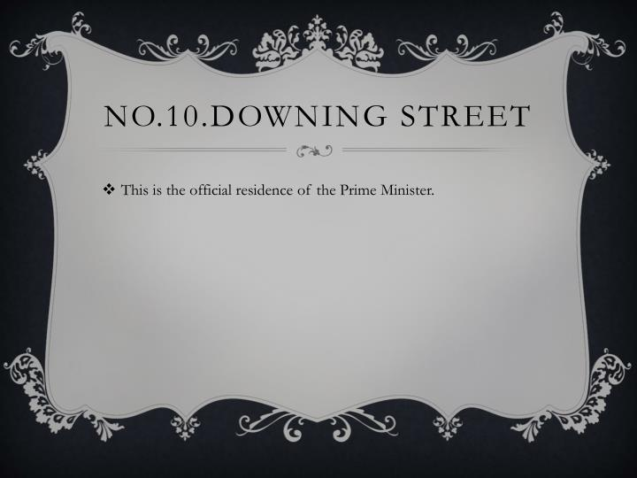 No.10.Downing Street