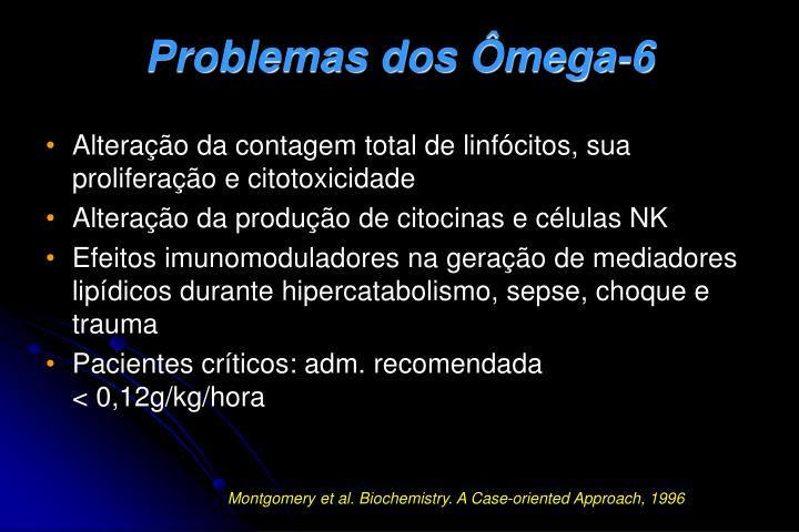 Problemas dos Ômega-6