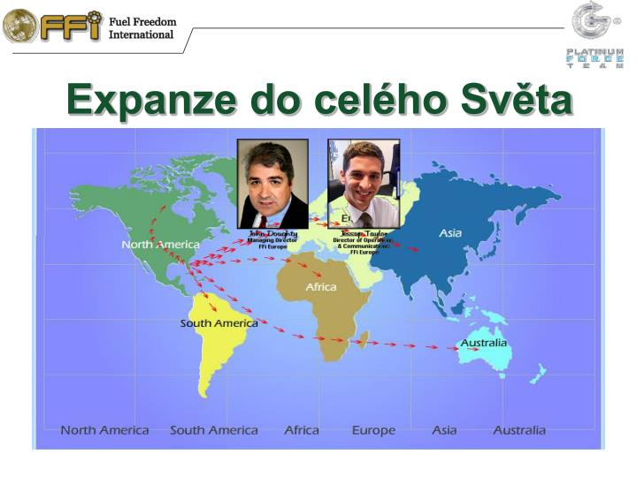 Expanze do cel ho sv ta