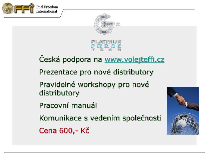 Česká podpora na