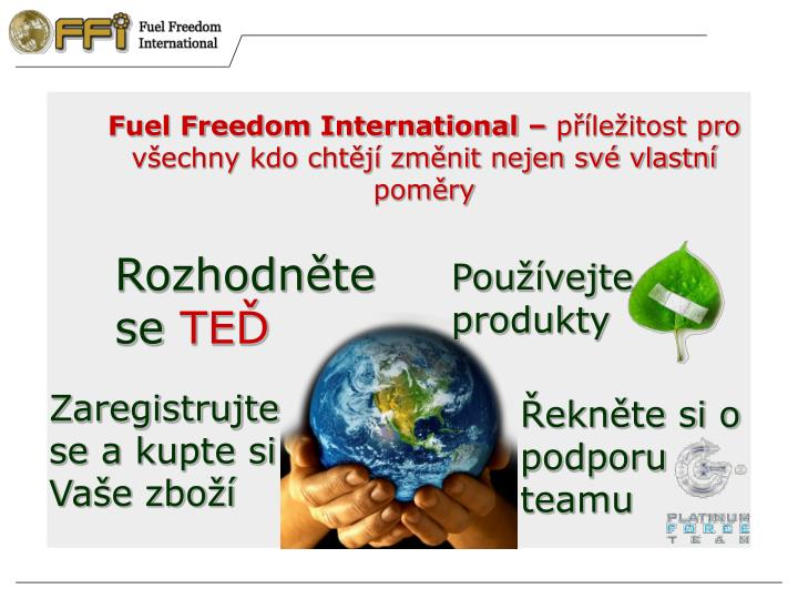 Fuel Freedom International –