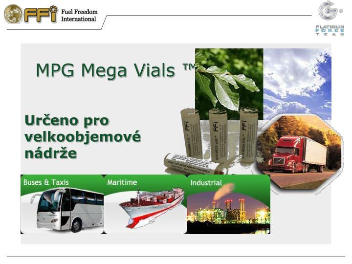 MPG Mega Vials ™