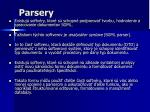 parsery