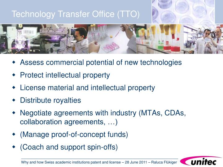 Technology Transfer Office (TTO)