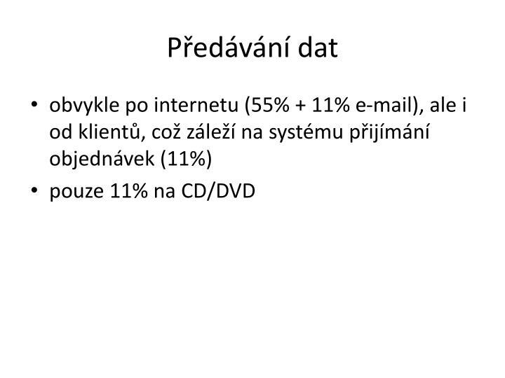 Předávání dat