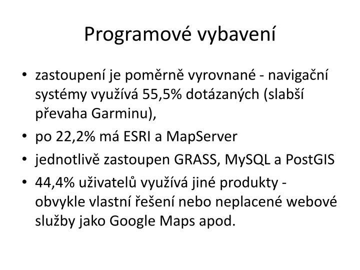 Programové vybavení