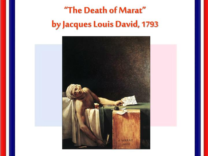 """The Death of Marat"""