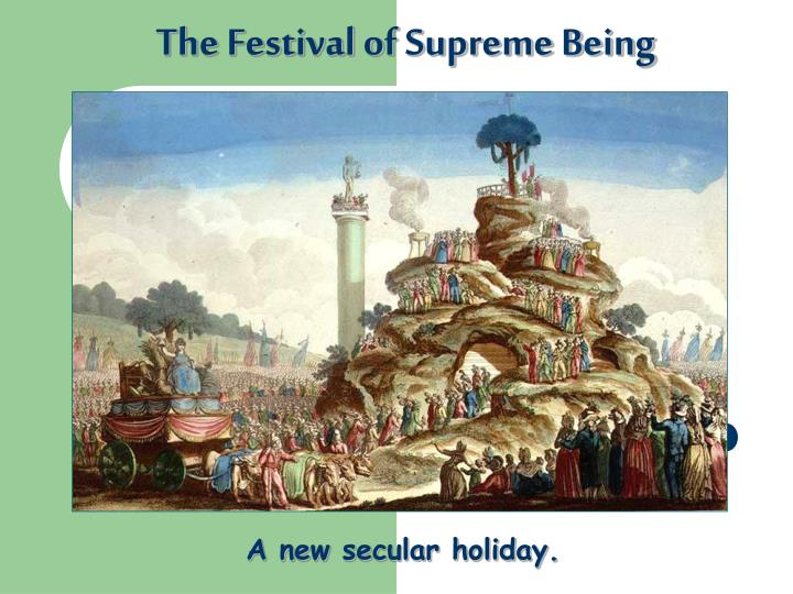 The Festival of Supreme Being