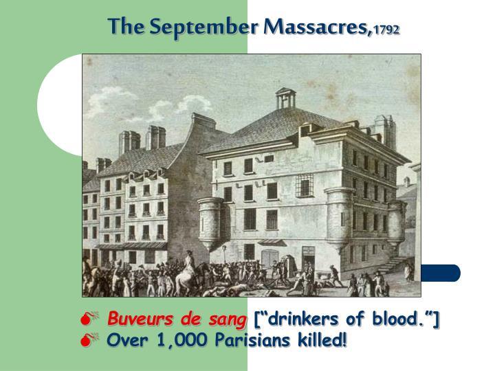 The September Massacres,