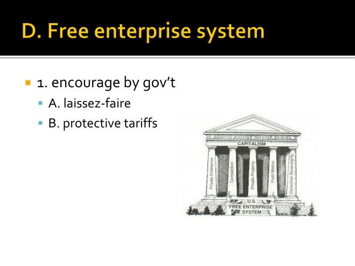 D. Free enterprise system