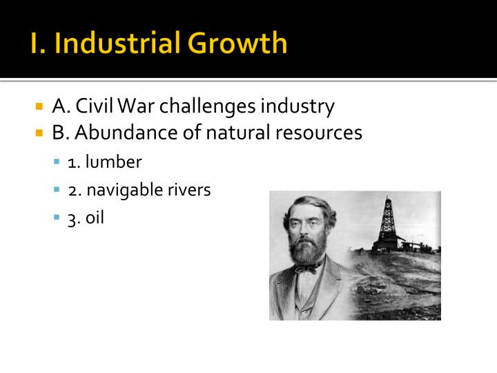 I industrial growth