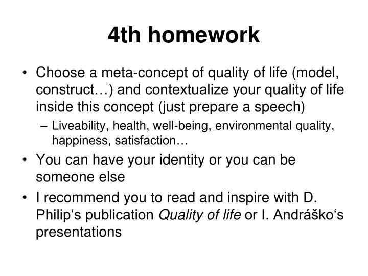 4th homework