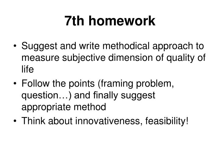 7th homework