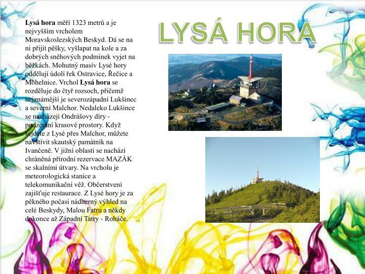 LYSÁ HORA
