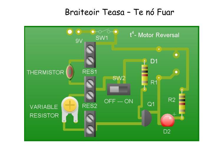 Braiteoir Teasa – Te nó Fuar