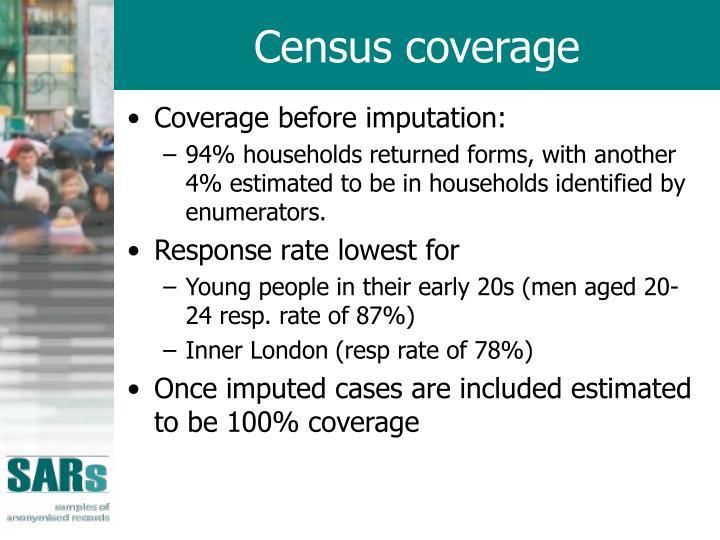 Census coverage
