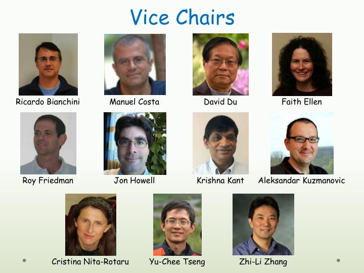 Vice Chairs
