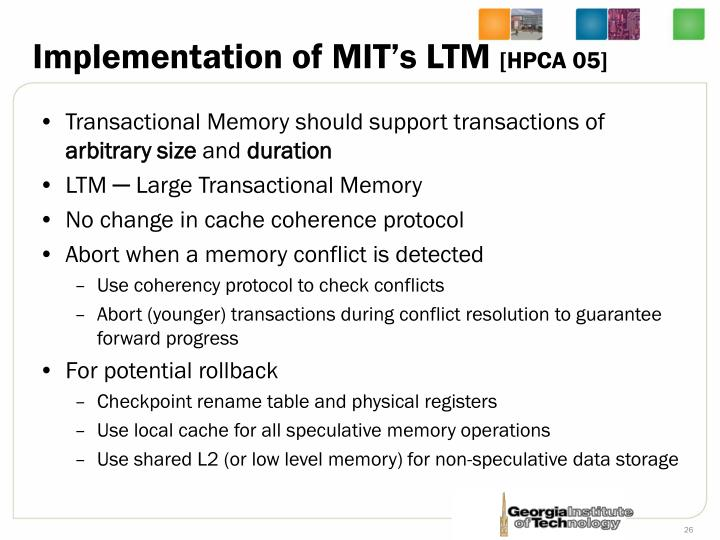 Implementation of MIT's LTM