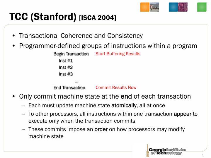 TCC (Stanford)