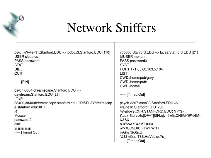 Network Sniffers