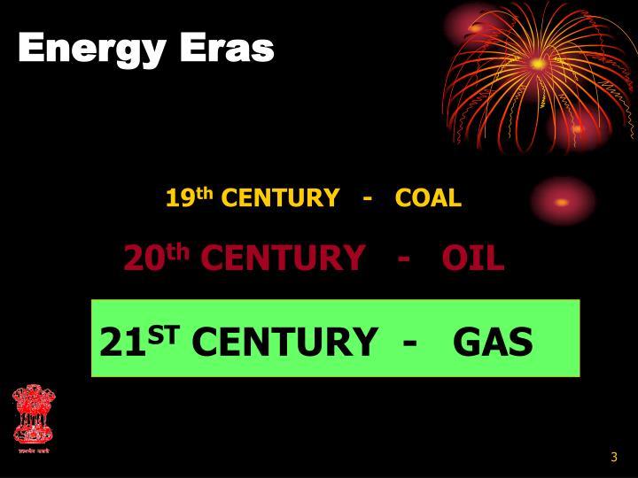 Energy Eras