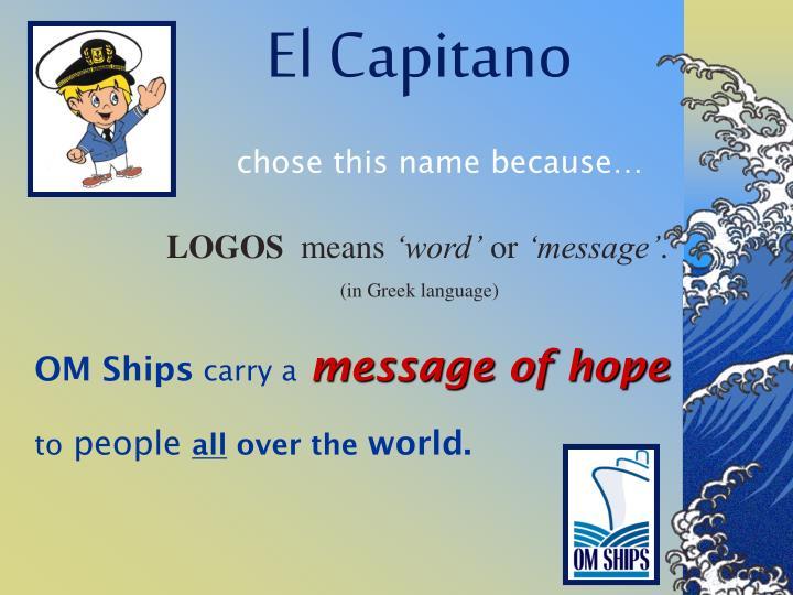El Capitano
