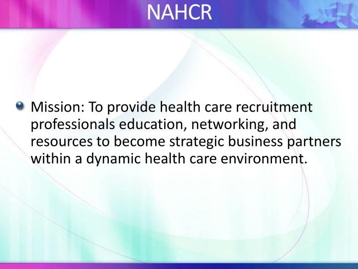 NAHCR