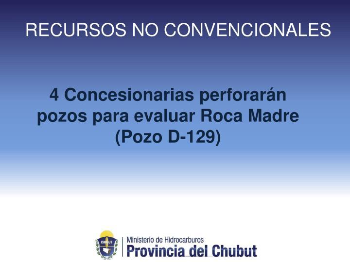 RECURSOS NO CONVENCIONALES